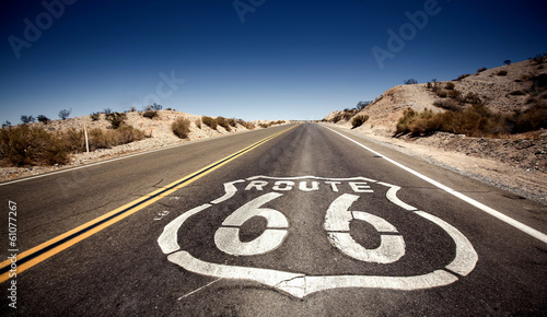 Famous Route 66 Canvas Print