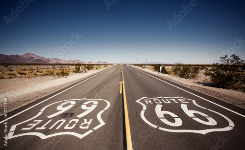 Cadres-photo bureau Route 66 Famous Route 66