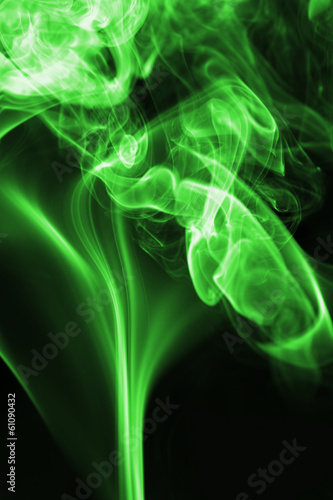 Tuinposter Fractal waves smoke background