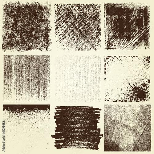 Fotografie, Obraz  Grunge Elements Design