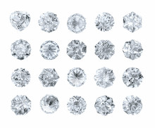 Set Of Diamonds