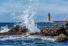 Waves Crashing  - Port Andratx...