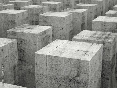 abstrakcjonistyczny-budowy-tlo-z-szalka-betonowi-bloki