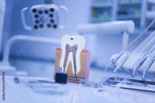 Dental equipment Canvas Print