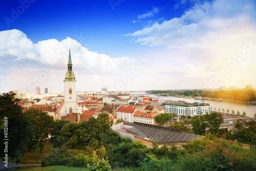 Photo  Panorama of Bratislava