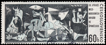CZECHOSLOVAKIA - CIRCA 1966: A Postage Stamp Printed In The Czec
