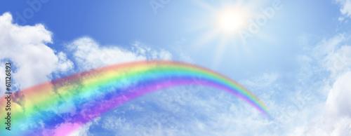 Rainbow Website Banner Header