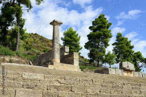 Foto op Aluminium Rudnes Greece Olympia origin of the Olympic games