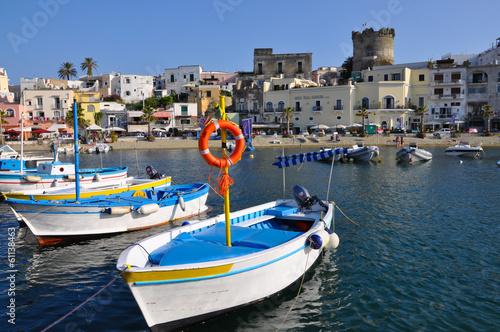 Fotomural  Forio marina, Ischia