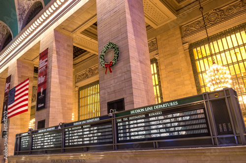 Grand Central Terminal,New York Canvas Print