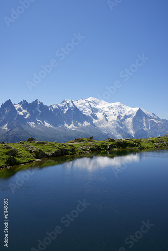 Wall Murals Alps Mont Blanc