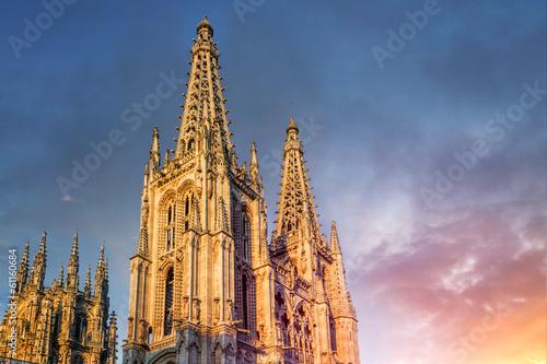 Cathedral of Burgos, Camino de Santiago, Spain