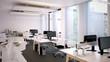 großer Bürorraum - modern open space office