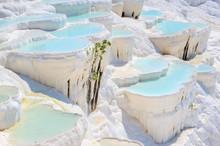Travertine Pools At Ancient Hi...