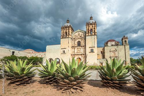 Fotobehang Mexico Church of Santo Domingo de Guzman in Oaxaca, Mexico