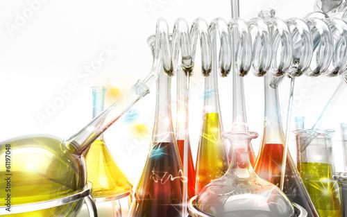 Fotografia  Alchimia, chimica, magia, alambicchi, stregoneria, provette