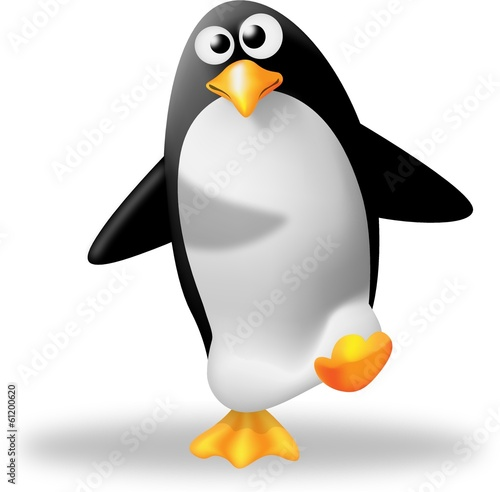 Fotografie, Obraz  pinguino