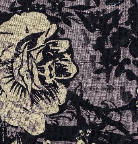 piece texture of the filament manually woven fabrics © nikolaydonetsk