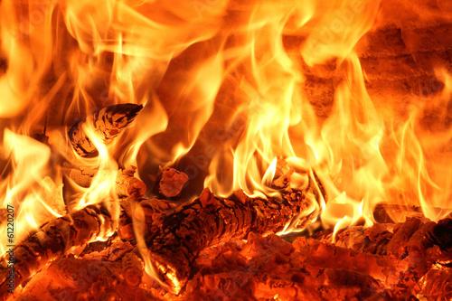 fototapeta na lodówkę fuoco