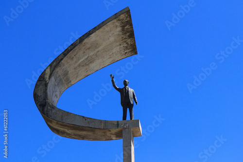 Memorial JK - President Memorial Statue in Brasilia