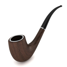 Brown Tobacco Pipe