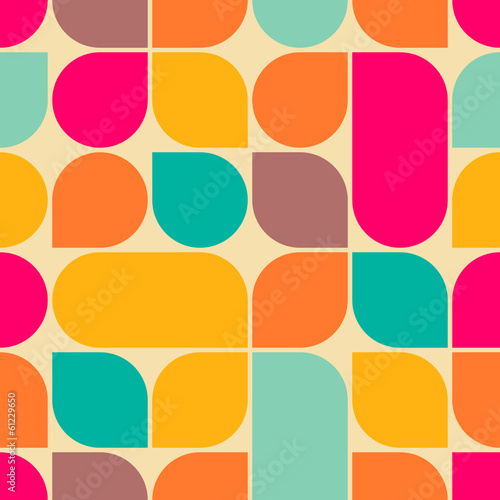 Piękne obrazy  retro-abstract-seamless-pattern