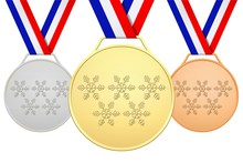 Médailles Françaises Avec 5 ...