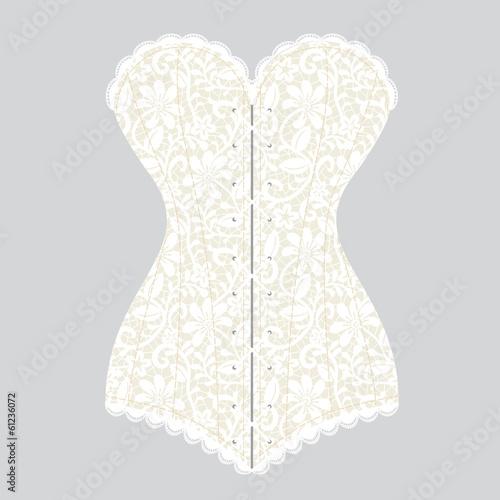 Photo vintage corset