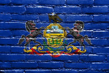 Pennsylvania State Flag Painte...