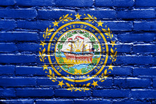 New Hampshire State Flag Paint...