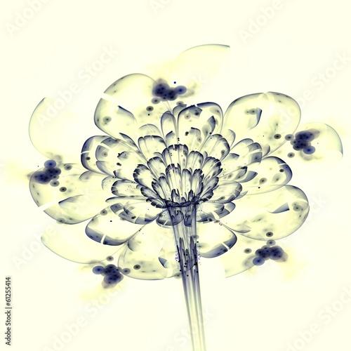 fraktal-niebieskie-swiatlo-kwiat-grafika-cyfrowa