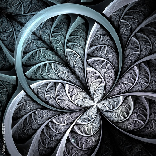 fraktal-ciemnorozowy-i-niebieski-kwiat