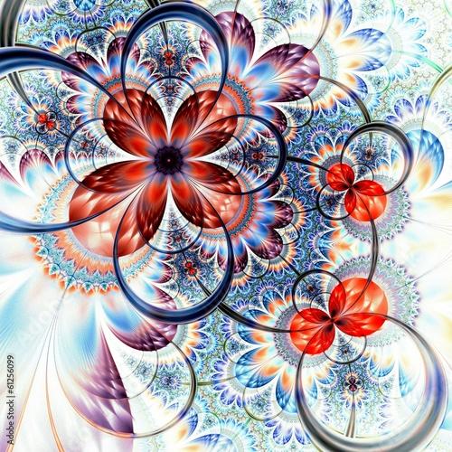 blekitny-i-czerwony-fractal-kwiat-cyfrowa-grafika