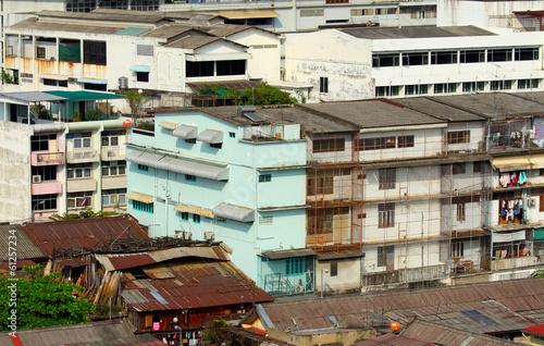 Fotografija  Slum in Thailand