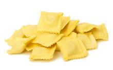 Ravioli Pasta Squares Isolated