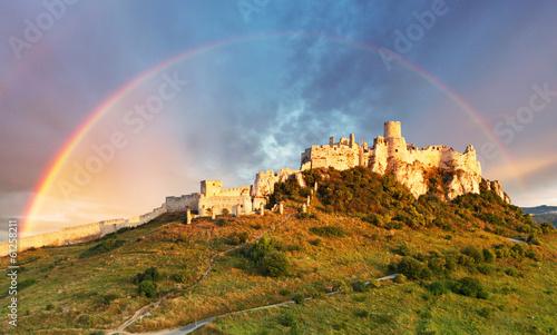 obraz dibond Spissky Castle, Slovakia