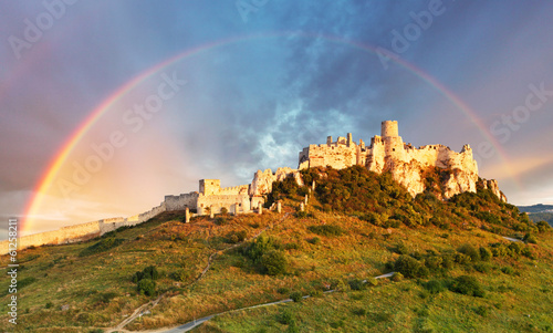 fototapeta na szkło Spissky Castle, Slovakia