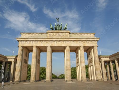 Spoed Fotobehang Berlijn Brandenburger Tor Berlin