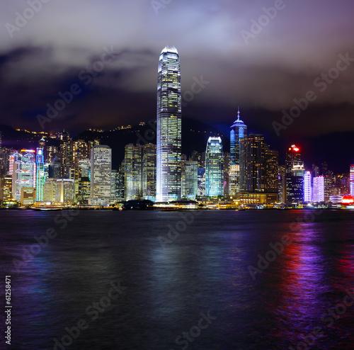 Photo  Hong Kong victoria harbour