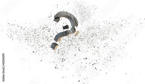 Fotografia, Obraz  Question mark