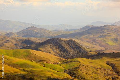 Fototapeta Enna countryside obraz na płótnie