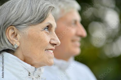 Foto op Plexiglas China Nice senior couple