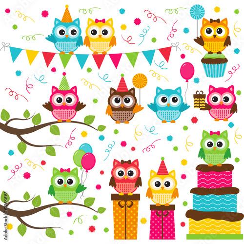 Valokuva  Owl party