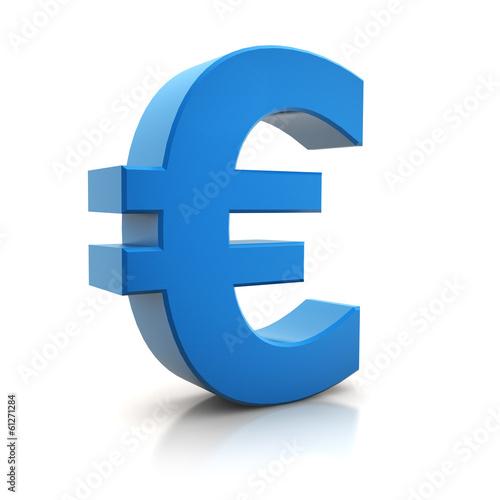 Fotografía  3D - Euro Sign (II)