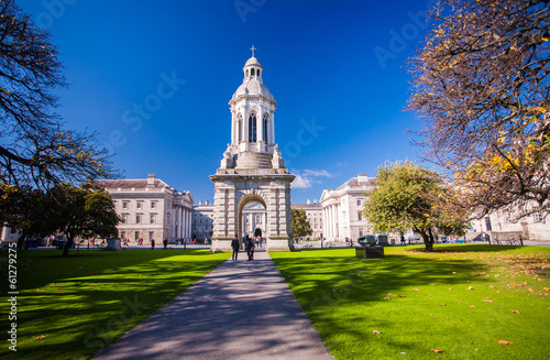 Photo  Trinity College, Dublin