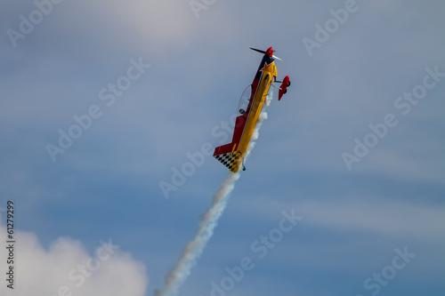 Photo Aerobatic airplane