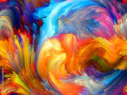 Fototapeta Colorful Motion obraz na płótnie