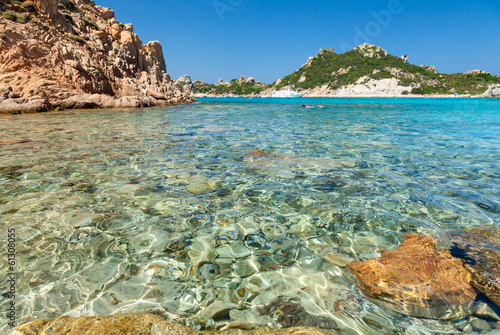 Foto Rollo Basic - Cala Corsara bay in Sardinia (von Dmitry Naumov)