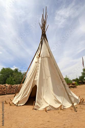 Fotomural tipi indien, Arizona
