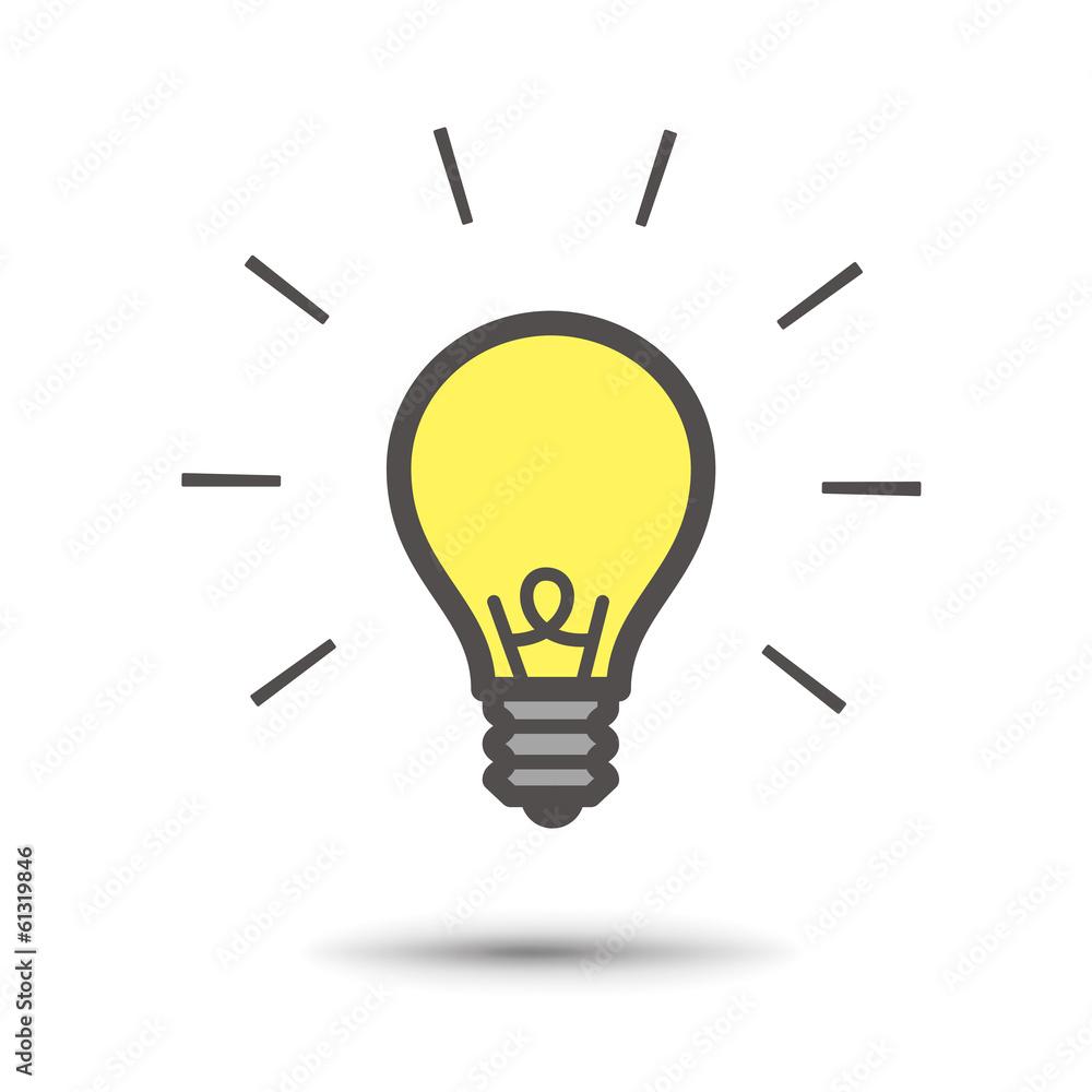 Glühbirne / Inspiration Foto, Poster, Wandbilder bei EuroPosters